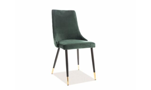 Jedálenská stolička Praxis, zelená