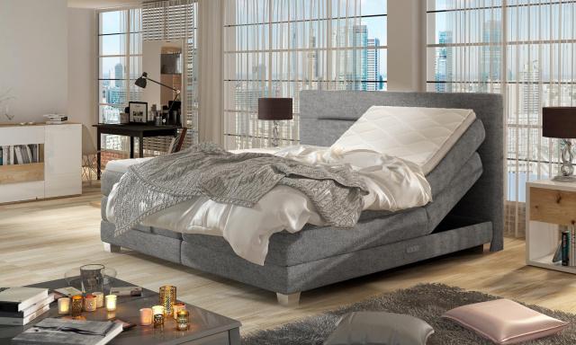 Kvalitná box spring posteľ Medica 180x200cm
