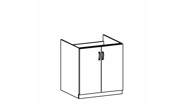 REVAL dolná skrinka 80cm - drezová