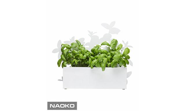 Stojanček na bylinky SAGAFORM Form Herb Stand, biely