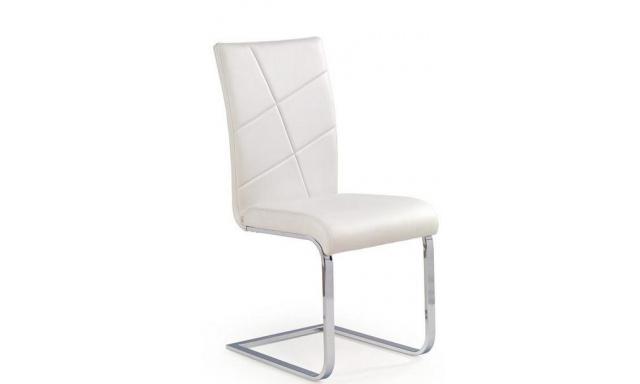 Jedálenská stolička H577, biela