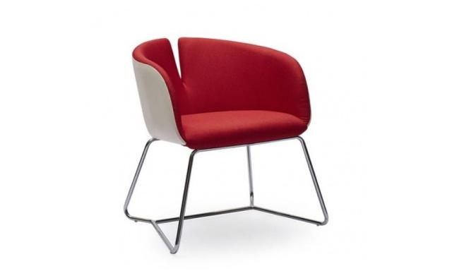 Relaxačné stoličky Prego, červená