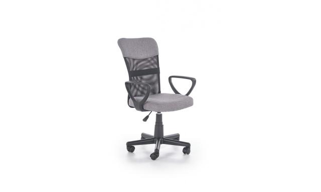 Dětská židle Tampa, šedá / černá