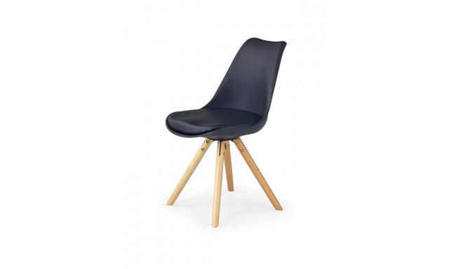 Jedálenská stolička H201, čierna