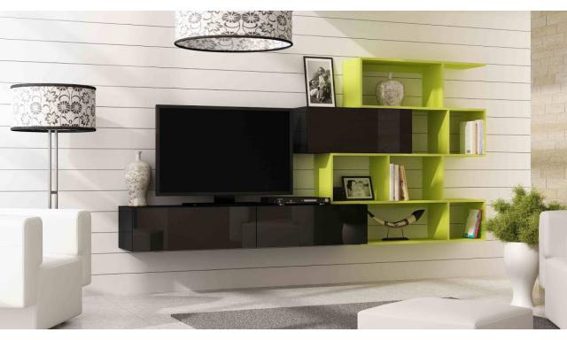 Dizajnová obývacia stena Igor new A