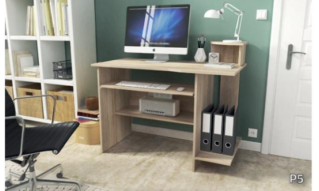 PC stôl P5, sonoma