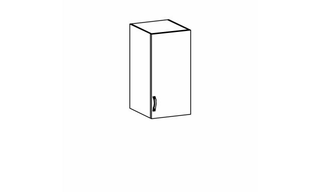 SYCILIE horná skrinka 40cm, pravá