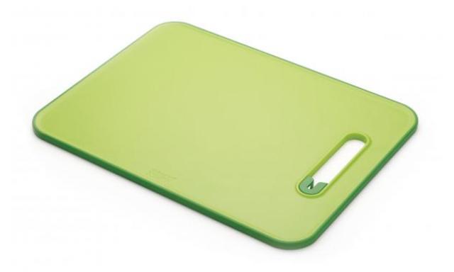 Doštička s brúskou JOSEPH JOSEPH Slice & Sharpen ™, veľké / zelené