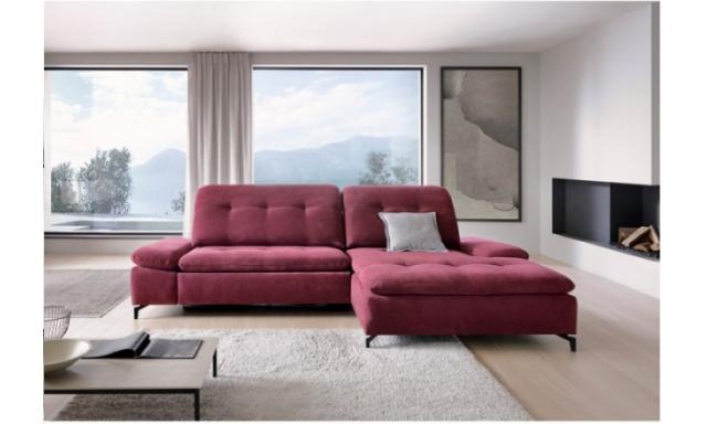 Luxusná rohová sedacia súprava Veria s funkciou relax