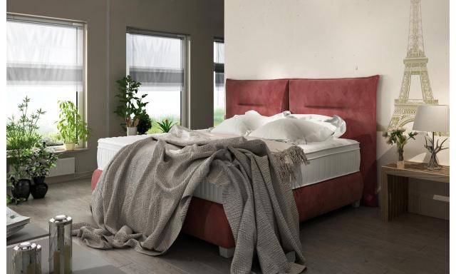 Kvalitná posteľ Forest 180x200cm s výberom poťahu!