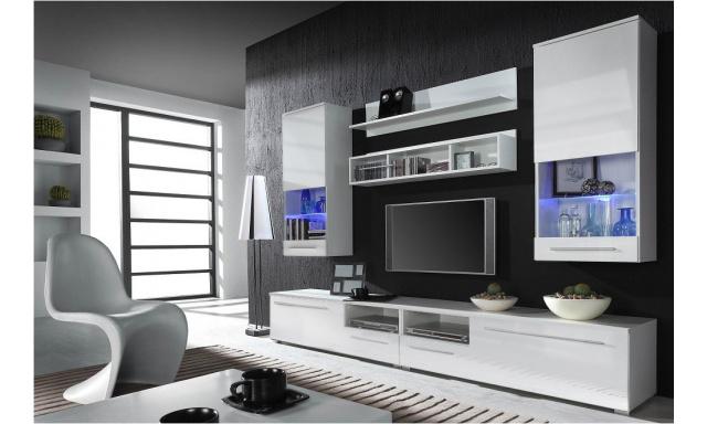 Obývacia stena Una 3 white