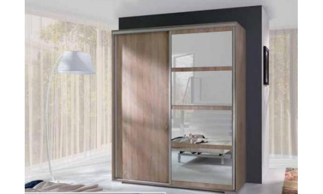 Moderná skřín Leona, sonoma