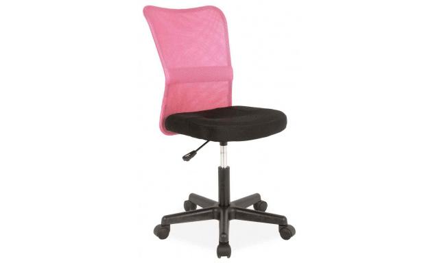 Dětská židle k psacímu stolu Sig394, růžová