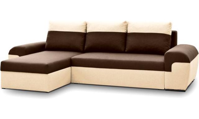 Moderná sedacia súprava Moreton, Hnedá
