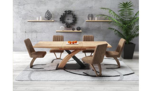 Luxusný jedálenský stôl H5010 s rozkladom