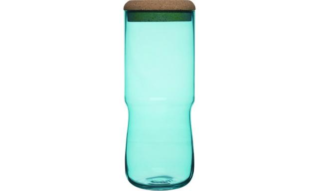 Váza / dóza SAGAFORM SEA Aqua, vysoká, zelená