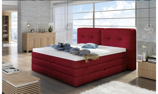 Luxusná box spring posteľ Feline 160x200