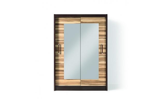 Zrcadlová šatní skřín Tima 2DL BIS