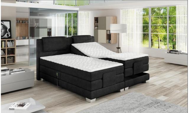 Luxusná box spring posteľ Vero 140x200