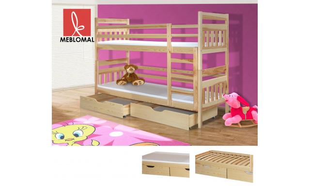Detská posteľ Bruno, masív + matrace ZADARMO!