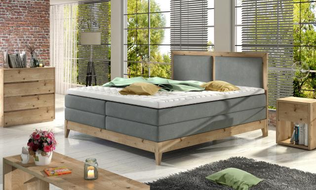 Luxusná box spring posteľ Belezza 140x200
