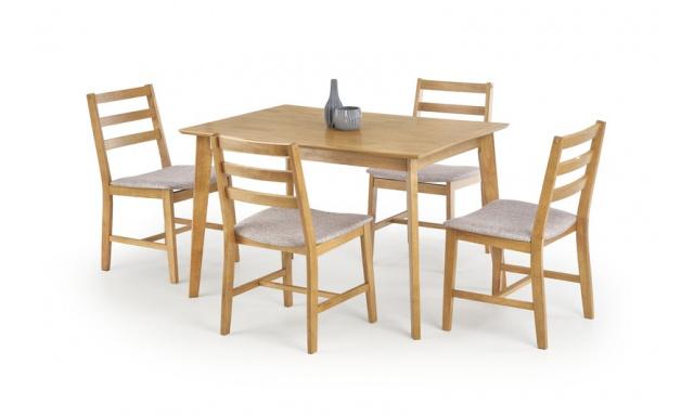 Lacný jedálenský set H8004 (stôl + 4x stoličky)