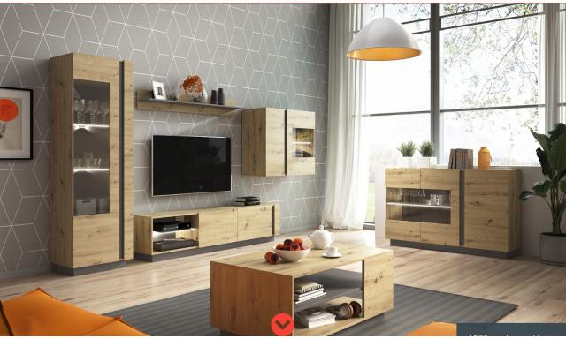 Moderný bytový nábytok AIRO zostava B