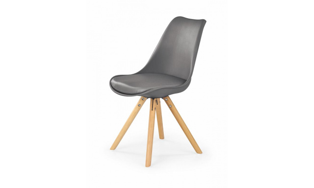 Jedálenská stolička H201, šedá