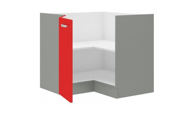Rosso dolná skrinka 90cm - rohová