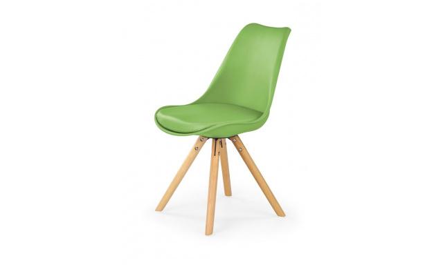 Jedálenská stolička H201, zelená