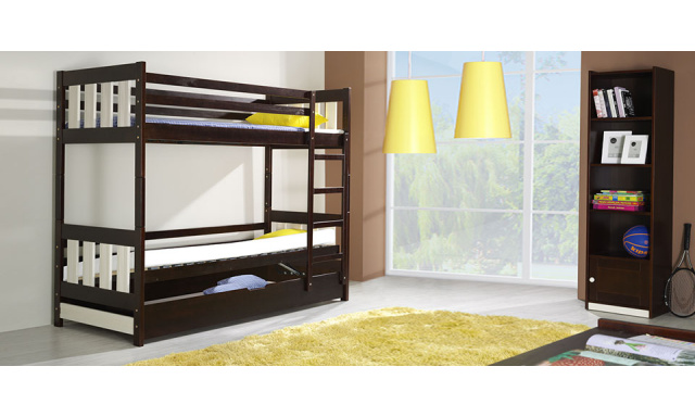 Detská posteľ Casper, masív
