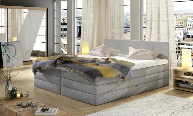 Kvalitná box spring posteľ Evita 160x200 - AKCIA