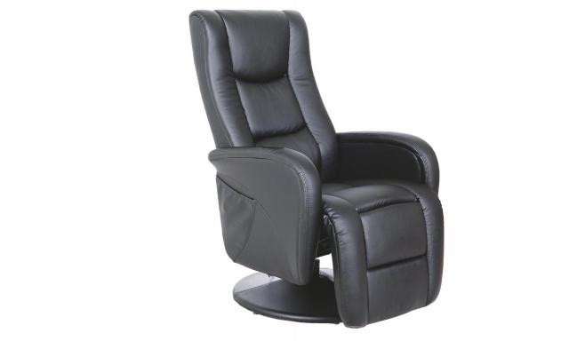 Pohovka Relaxačné Pulse Chair, čierna