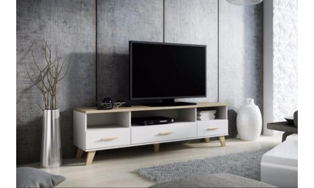 Dizajnový televízny stolík Lora 180