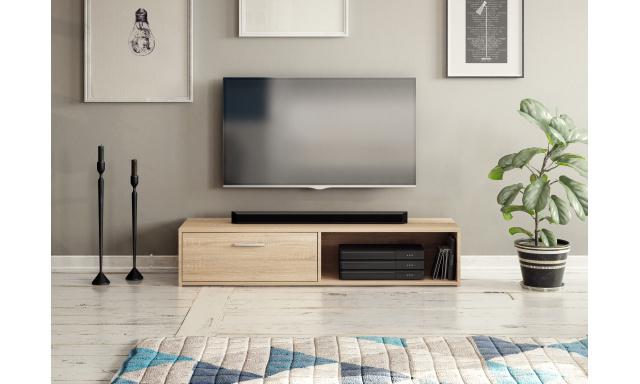 Moderný TV stolík Savana 140cm, sonoma