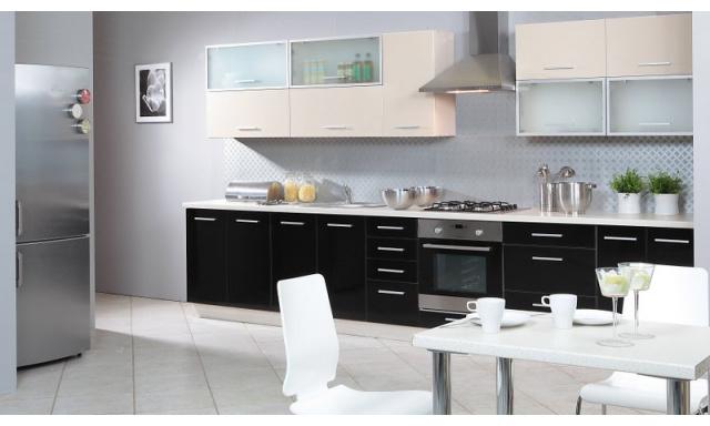 Luxusná kuchynská linka Platinum D, vysoký lesk!