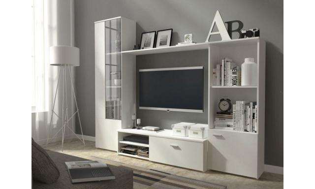 Moderná obývacia stena Heros, biela