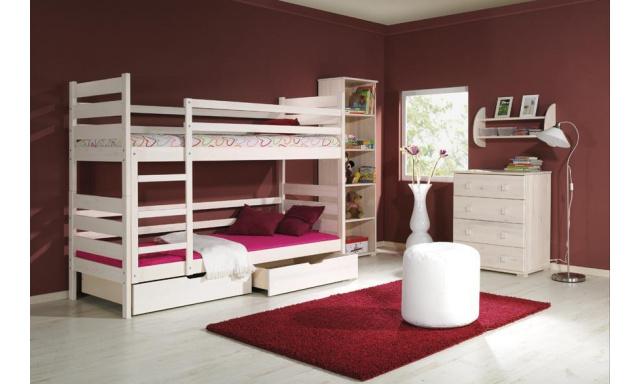 Detská posteľ Derek, masív