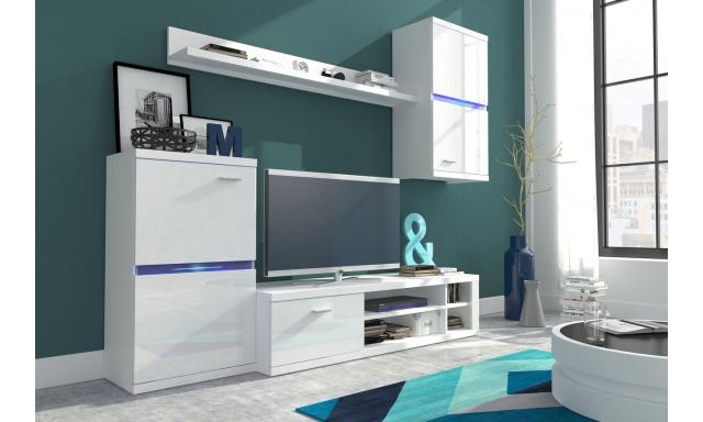 Moderná obývacia stena Istria, biela