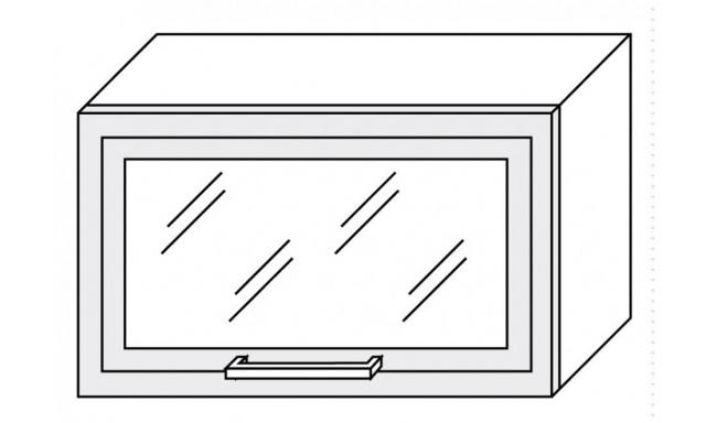 PLATINUM horná skrinka 60cm W4bs / 60 ALU