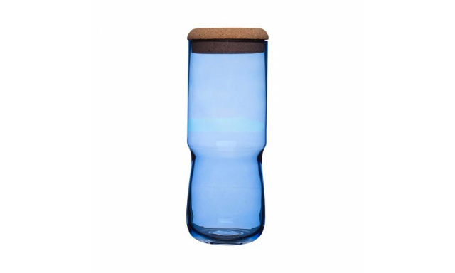 Váza / dóza SEA Aqua, vysoká, modrá