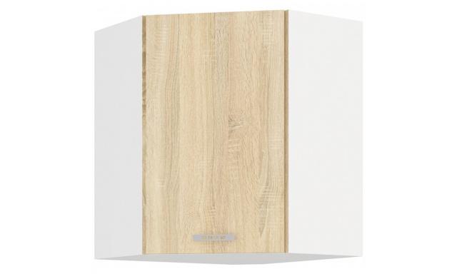 SAVA sonoma horná skrinka 60cm - rohová