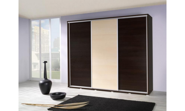 Moderní šatní skřín Lopa 255