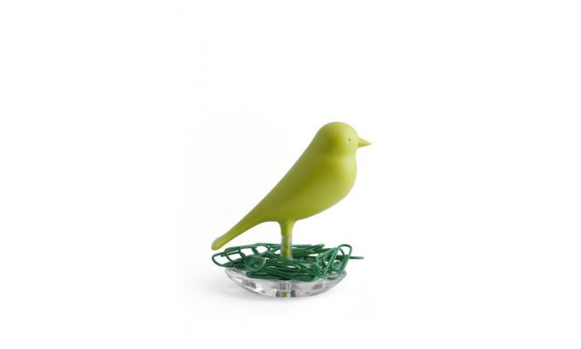 Miska na svorky Qual Nest Sparrow, zelená