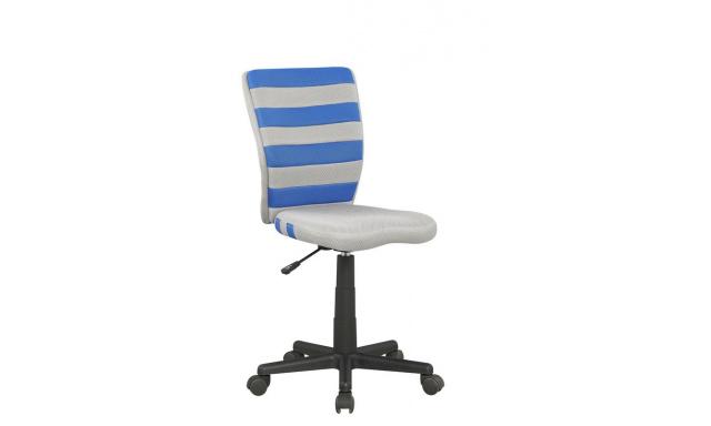 Kancelárska stolička Fuego, modrá / šedá