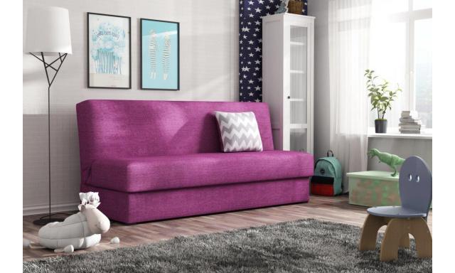 Rozkladacia pohovka Arco, fialová