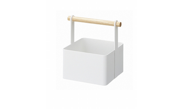 Multifunkčný box Yamazaki Tosca Tool Box S, biely