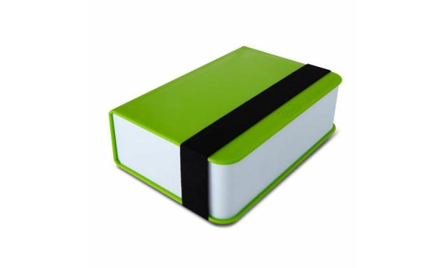 Desiatový box BLACK-BLUM Lunch Box Book, zelený