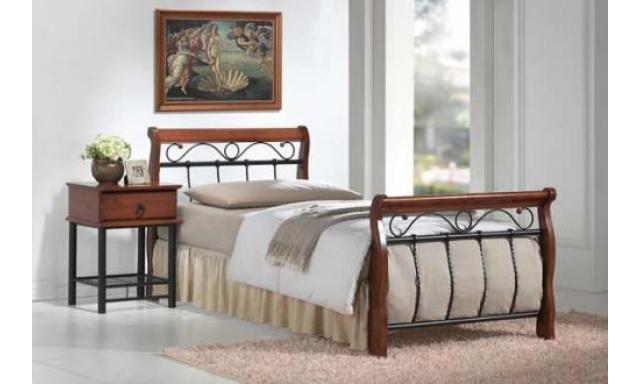 Kovová postel S3 - 90x200cm