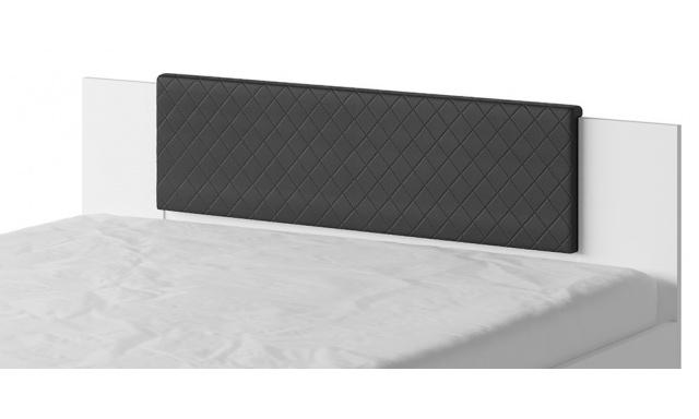 Záhlavník k posteli Bern, čierny